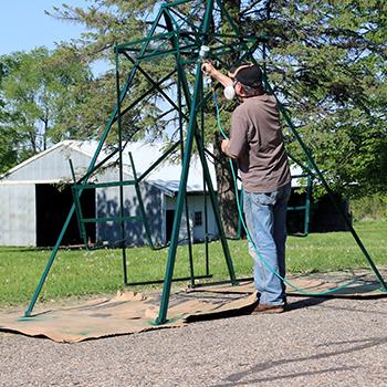 Painting Swing